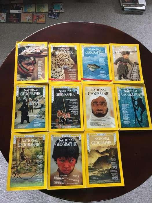 Colección Revistas National Geographic Año 1972