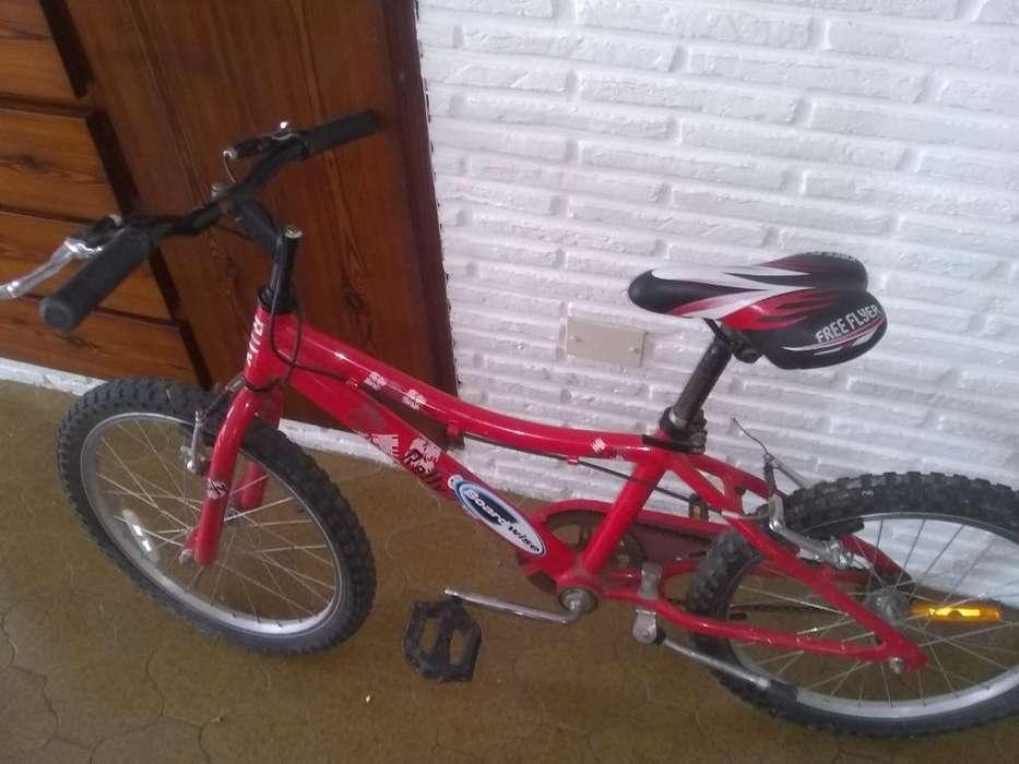 Vendo Bici, Color Rojo, para Niños