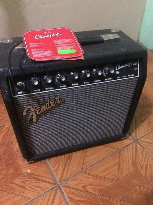 Amplificador Fender 20 Champion Como Nue