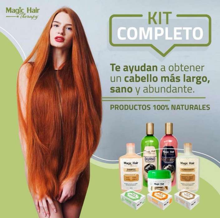 Shampoo Importado Magic Hair