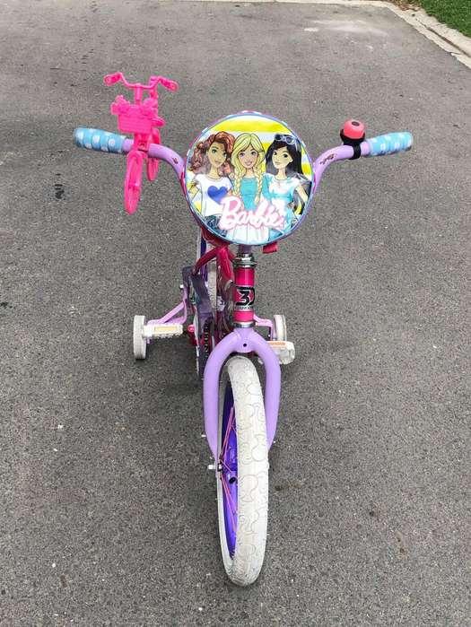 Bicicleta Barbie Usada 3184146491