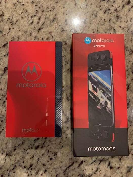 Moto Z3 Play y Game Pad Nuevo