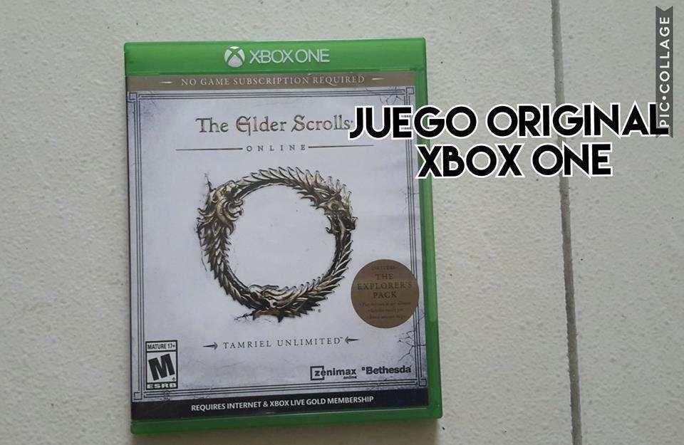 juego original de xbox one the elder scrolls original venta