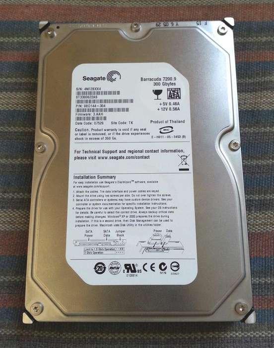 Disco duro 300Gb 3.5