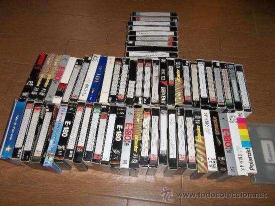 VENDO VIDEOS CINTAS VHS EN PERFECTO ESTADO GARANTIZADAS Vendo los vídeos VHS en buen estado