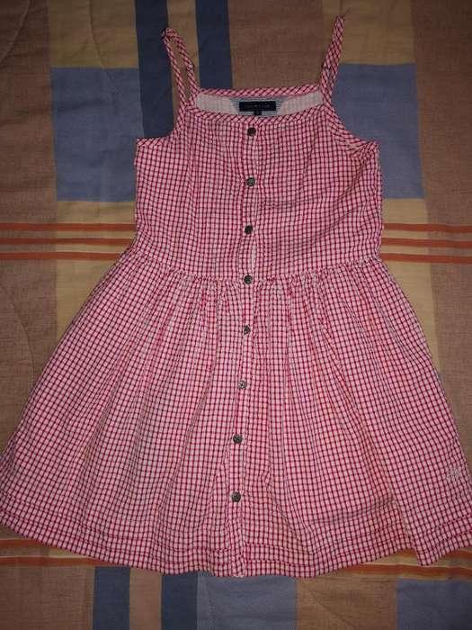 Vestido Tommy Hilfiger Niña Talla 10