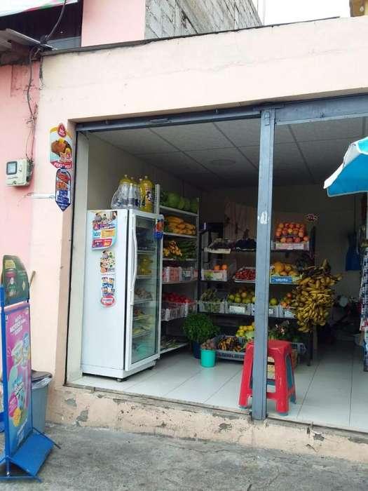 Se vende local de frutas y legumbres x falta de tiempo tlf0986259495