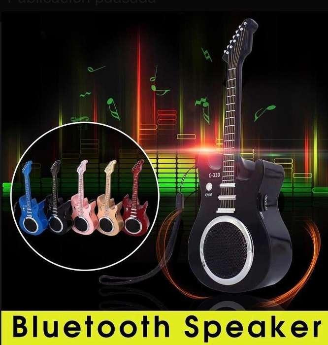 Parlante Portátil Bluetooth Guitarra Modelo C-330