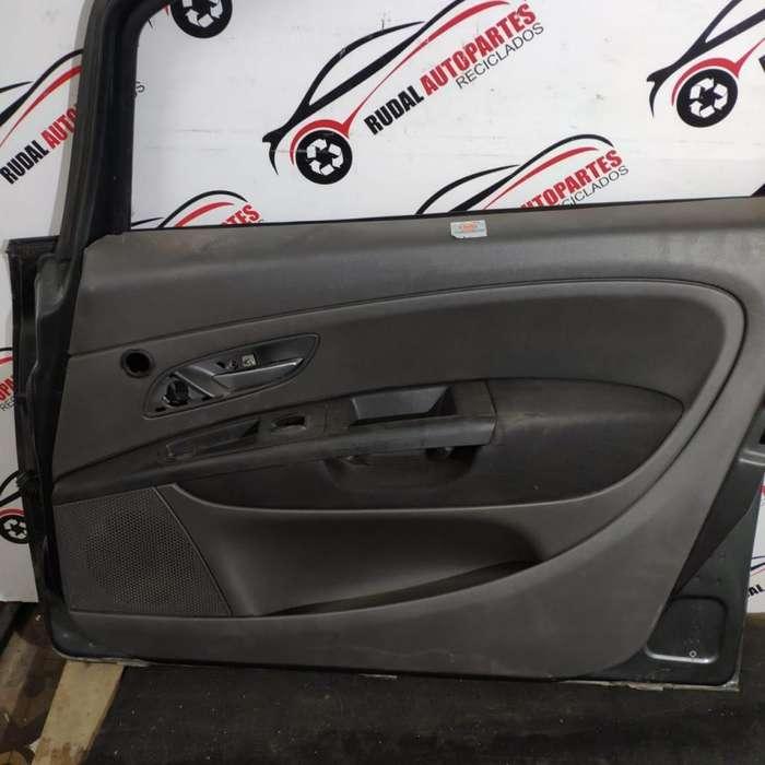 Tapizado Puerta Delantera Derecha Fiat Punto 2375 Oblea:03296885