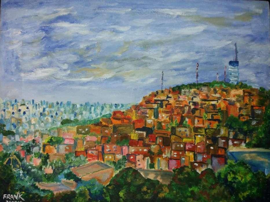 Vista desde El Cerro Santa Ana Guayaquil