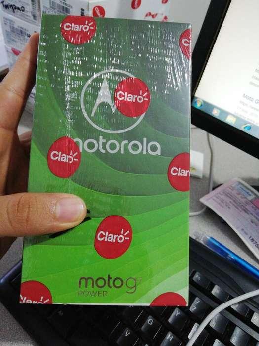 Motorola G7 Power Nuevo!!
