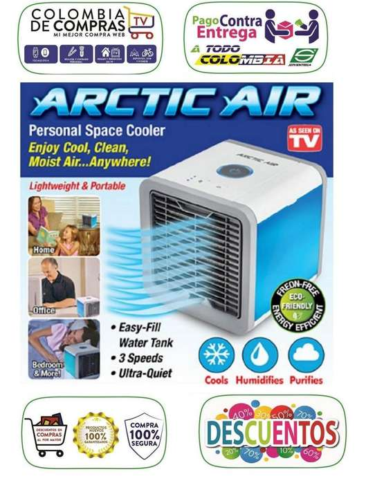 Difusor Aire y Aire Acondicionado TV Portátil 3 en 1 Climatiza Arctic Air, Nuevos, Originales, Garantizados...
