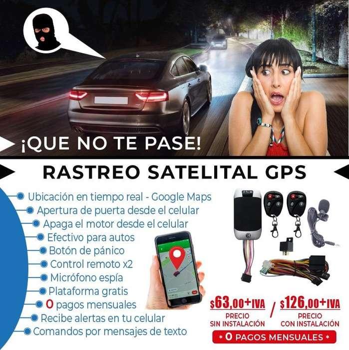 GPS AUTO. RASTREO VEHICULAR. RASTRERO SATELITAL. UBICACION AUTOS. SISTEMA ANTIROBOS.