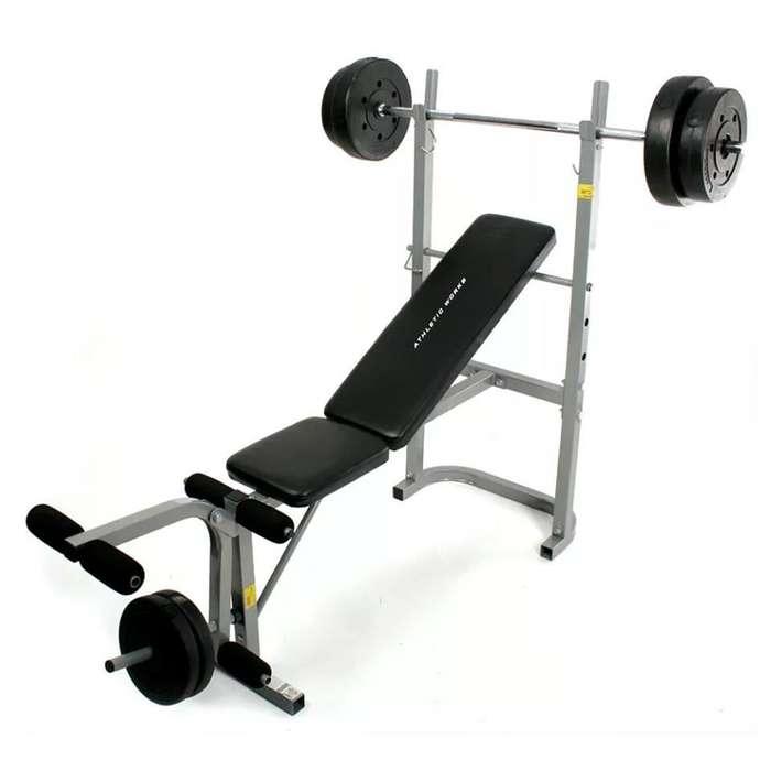 Banco multi-ejercicio athletic work