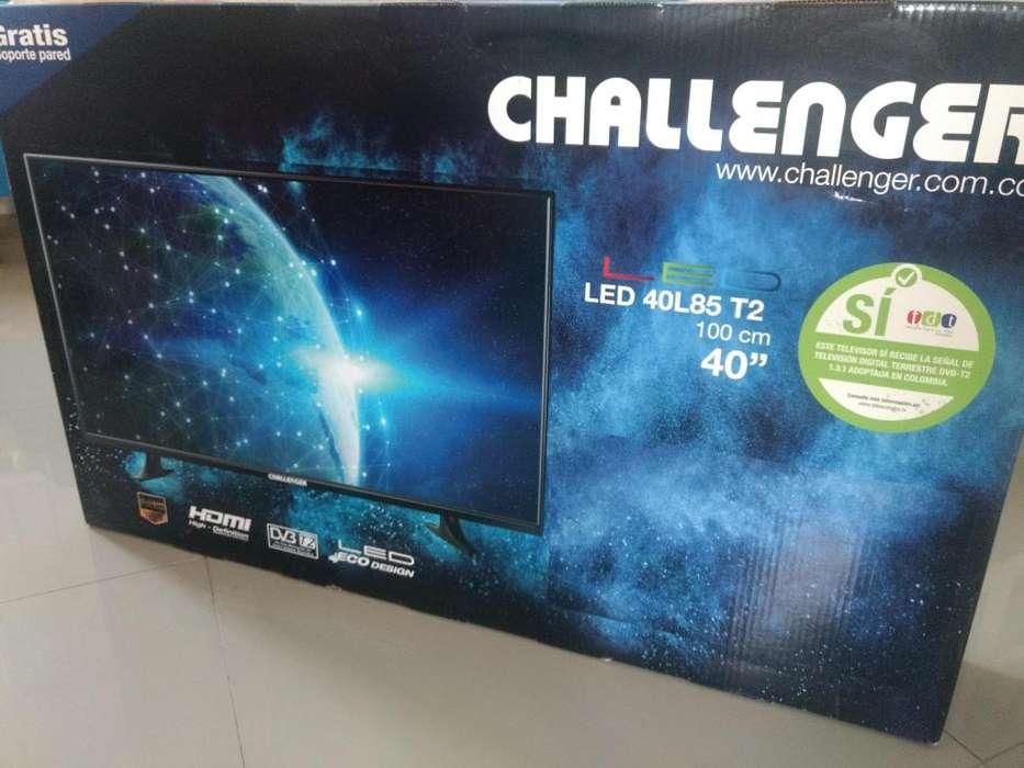 Televisor Challenger 40'' LED40L85 T2 (NUEVO)