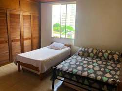 Habitacion Amplia en Acogedor Apartamento Vista Al Mar Bocagrande