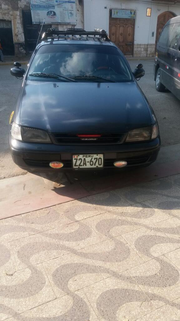 Vendo Mi Toyota Caldina Llamar 967245469