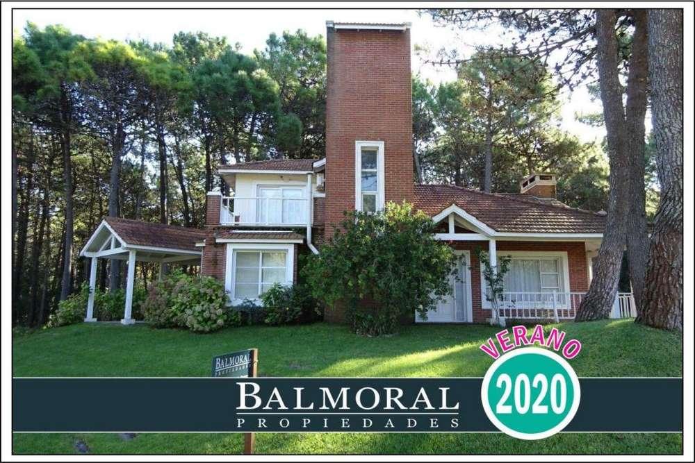 Ref: 8010 - Casa en alquiler, Pinamar, Zona Norte Tennis Ranch