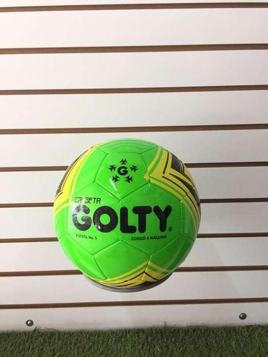 Balón Golty Gambeta 5 Cosido