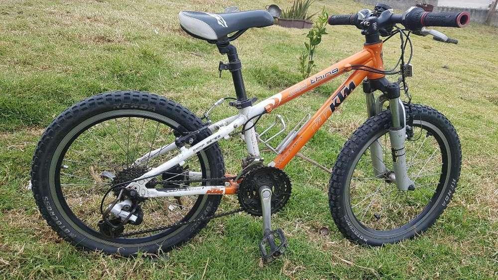 Bicicleta Ktm Mtb para Niño