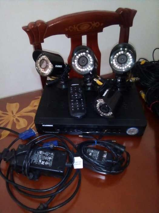 Se Venden Cámaras de Seguridad con Monitor