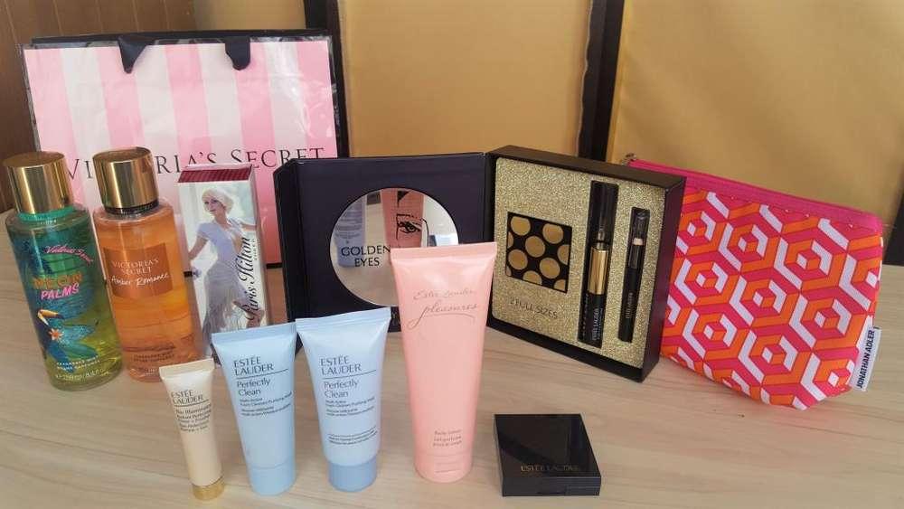 Maquillaje Estee Lauder, Victoria Secret, Paris Hilton Oferta