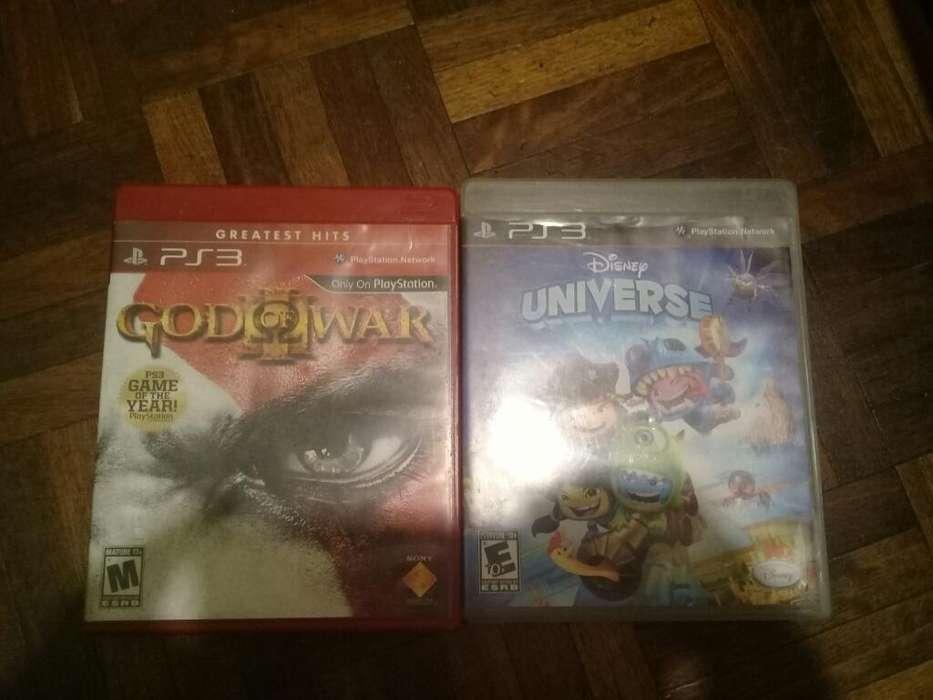 Vendo God Of War 3 Y Disney Universe