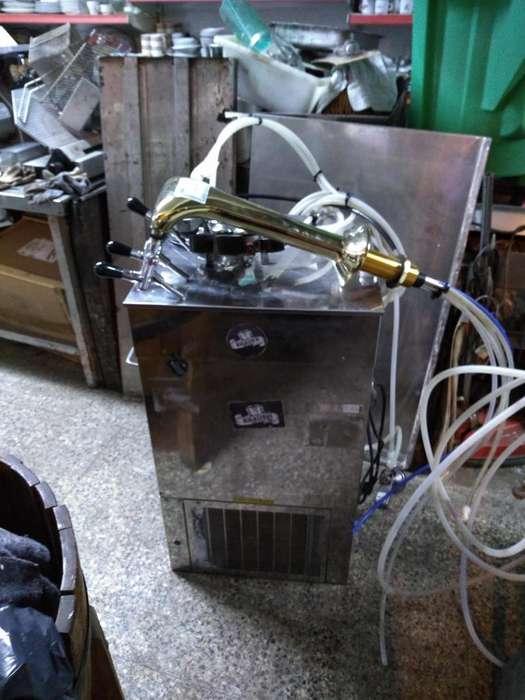 chopera electrica con pilon de 3 salidas y 4 conectores y 1 regulador