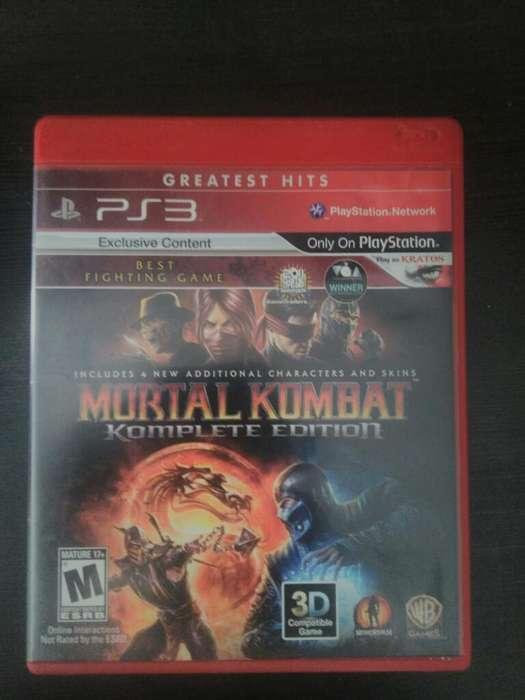 Mortal Kombat Complete Ps3 Play 3 10/10