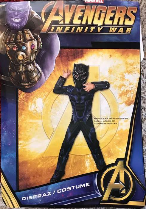 Disfraz Pantera Negra T8