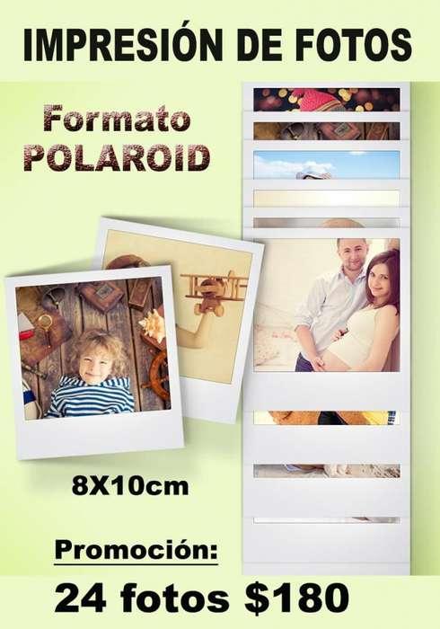 POLAROID - IMPRESIÓN DE FOTOS