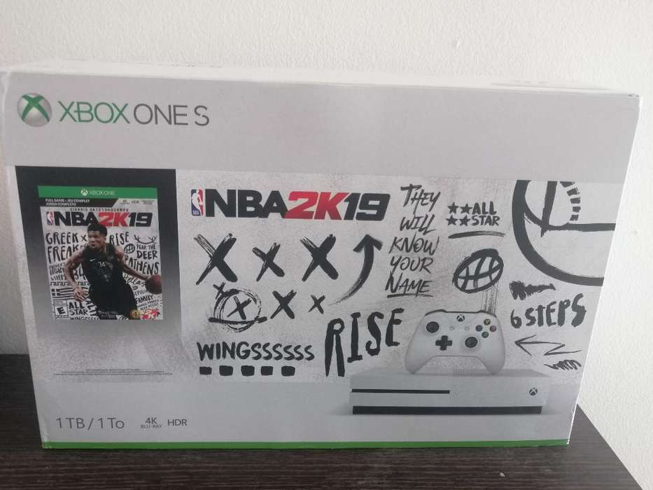 Xbox One S 1tb Nuevo con Nba2k19