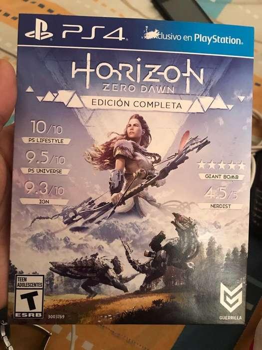 Horizon Zero Dawn Edicion Completa Ps4