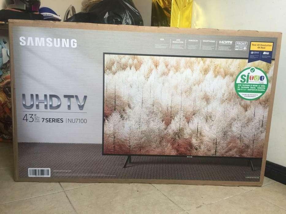 <strong>televisor</strong> Samsung 43'' 4k