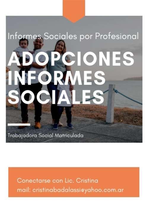 Informes Sociales por Adopción