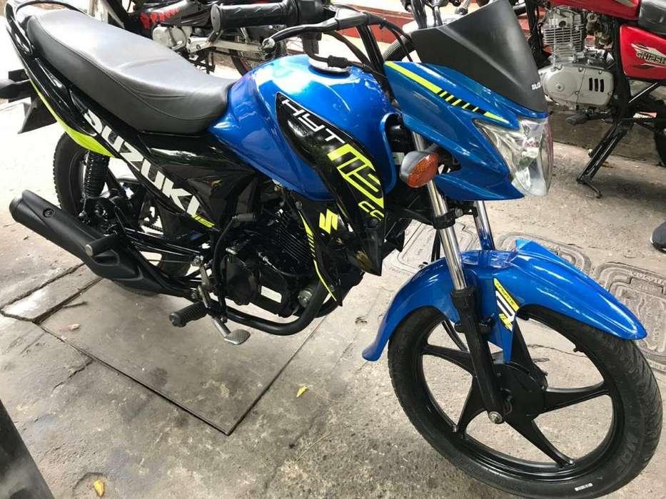 Suzuki Hayate 115 Modelo 2019