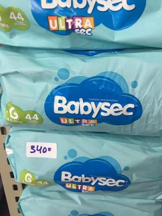 Pañales Babysec