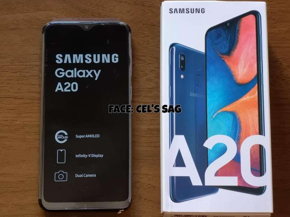 SAMSUNG GALAXY A20 NUEVOS 32GB. ACEPTO CELULAR Y EFECTIVO