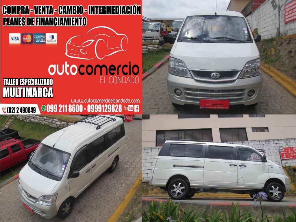 HERMOSA FURGONETA SUPER CARRY DE 11 PASAJEROS FULL UNICO DUEÑO DEL 2013