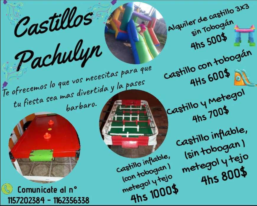 Alquiler de Castillos