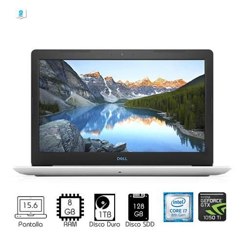 Laptop Gamer Dell I7-8750H NVidia GeForceGTX1050Ti SSD128GB HDD1TB