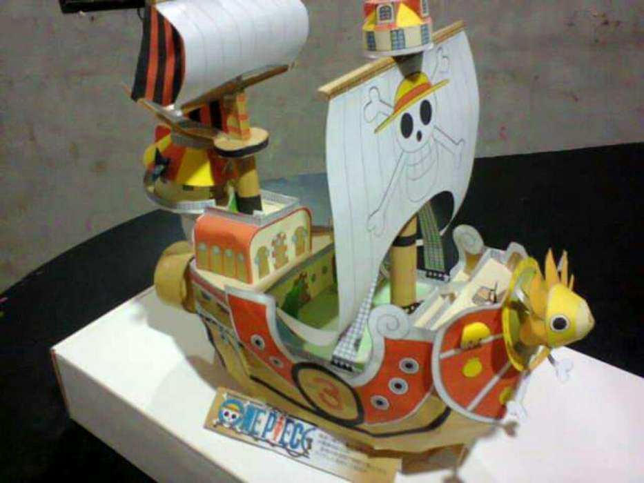 Papercraft Thousand Sunny - One Piece
