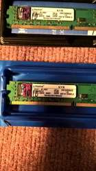 2 Memorias Ram Kingston 2GB DDR 3 1333 Mhz