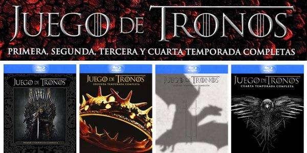 JUEGO DE TRONOS 8 TEMPORADAS LA SERIE COMPLETA