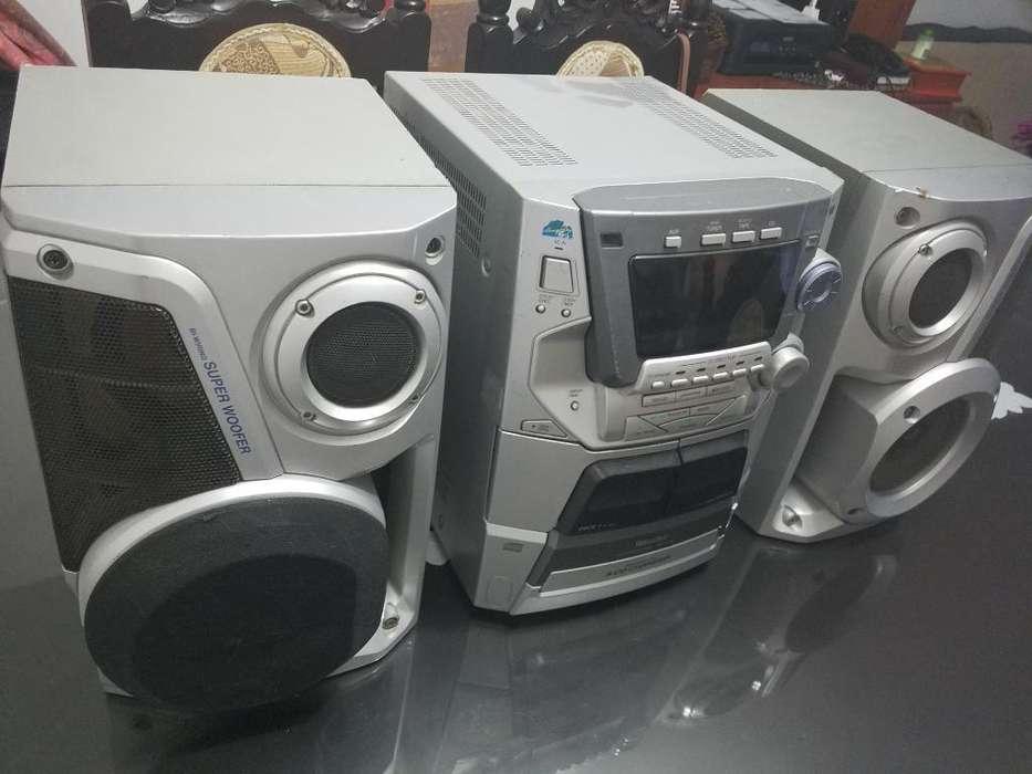 Equipo de Sonido Panasonic Repuestos