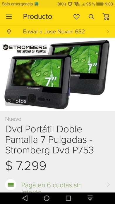 Dvd Portátil Doble Pantalla