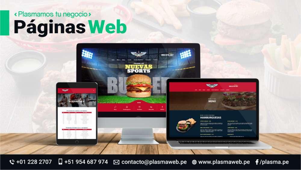 Páginas Web Administrables Tiendas Virtuales Páginas Web a Medida Campañas en Google Adwords