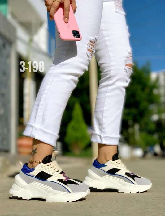 Calzado Deportivo Fashion, Colores Secos
