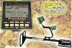 DETECTOR DE METALES GARRETT GTI 2500  OJO DE AGUILA Cel 316 5770107