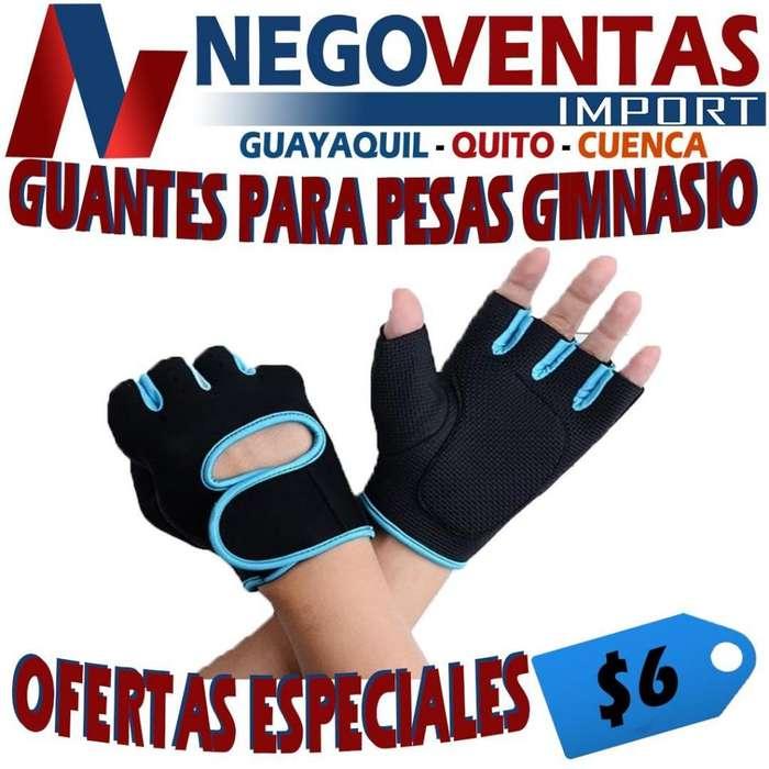 GUANTES PARA PESAS GIMNASIO PRECIO OFERTA 6,00